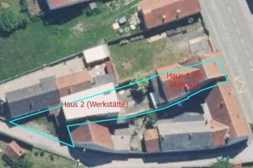 2 Häuser zum Wohnen & Arbeiten!