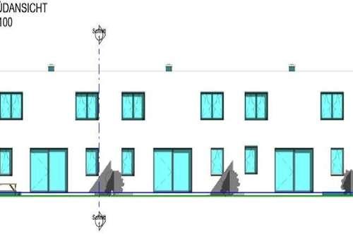 Moderne Reihenhäuser in Lochen am See