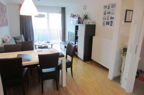 Moderne 2 Zi Wohnung mit Balkon und TG-Stellplatz