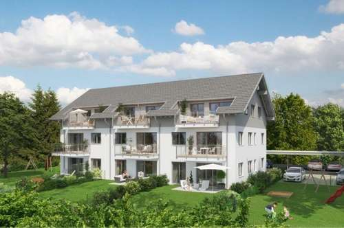 BAUVORHABEN: Top moderne Neubauwohnungen mit Terrassen, Balkon oder Garten!