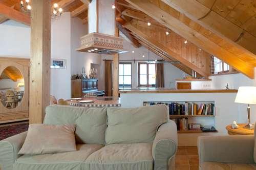 Malerisches Wohnen wie im eigenen Haus im Grünen von Geretsberg