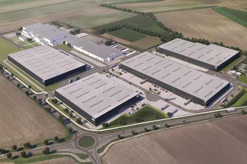 Hochwertige Logistik - Industrial Campus Vienna East