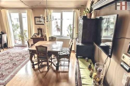 Helle, sehr sonnige Familienwohnung in Zentrumsnähe mit 5 Zimmern und 2 Balkonen