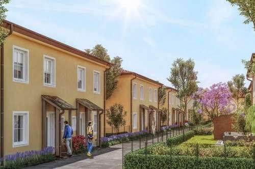 ACHTERSEE - Letztes schlüsselfertiges, exlusives & klimatisiertes Doppelhaus mit Toskana-Flair - HAUS 13 - MASSIVHAUS!
