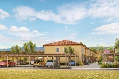 ACHTERSEE - 5 von 16 schlüsselfertige, exlusive & klimatisierte Doppelhäuser mit Toskana-Flair - HAUS 15 - MASSIVHAUS!