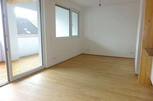 Bezaubernde Designer-Wohnung (Altbau Aufstockung-Erstbezug), 79 m2 Wohnfläche + 11 m2 Loggia, sonnig U6 + U4, Augarten!