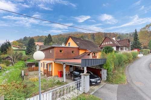 Ruhig gelegenes Haus mit großem Grund zum TOP Preis, 4min vom See entfernt