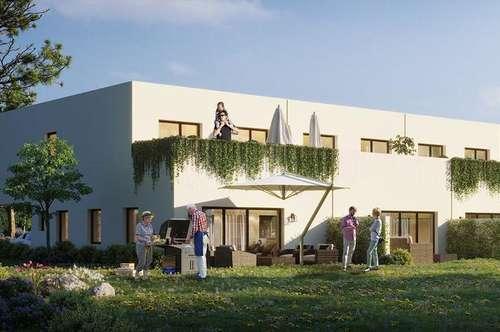 Straßgang, Großer Garten mit Neubaureihenhaus - H6 NG20-pa