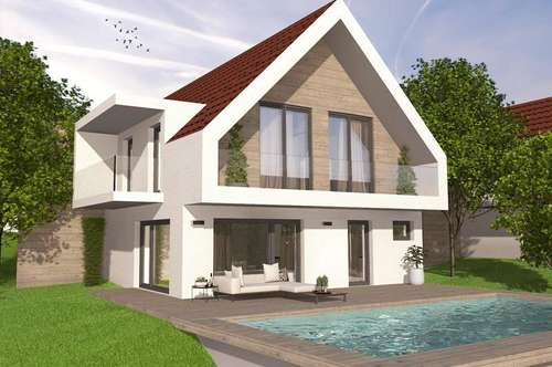 Haus 1: Schlüsselfertiges Einfamilienhaus SLF