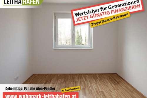 Haus 19! Doppelhaushälfte im Wohnpark Leithahafen! -wpls