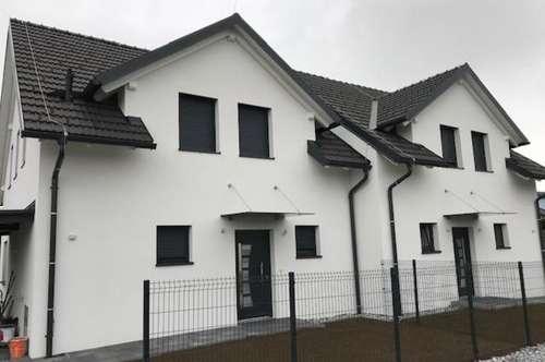Doppelhaushälfte, fertiggestellt 2018 in ruhiger Seitenstraße in Fernitz!