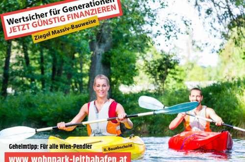 Doppelhaushälfte im Wohnpark Leithahafen! Haus 22! (Eckhaus) -wpls