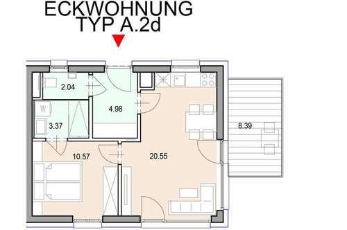 Cleveranlage.at - 2 Zimmerwohnung mit Balkon - 2.42 - Bbs.ca