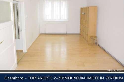 Bisamberg - TOPSANIERTE 2-ZIMMER NEUBAUMIETE IM ZENTRUM