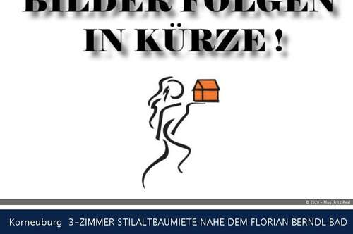Korneuburg 3-ZIMMER STILALTBAUMIETE NAHE DEM FLORIAN BERNDL BAD
