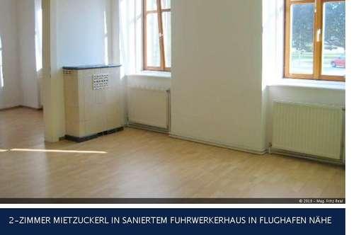 Rauchenwart - 2-ZIMMER MIETZUCKERL IN SANIERTEM FUHRWERKERHAUS IN FLUGHAFEN NÄHE
