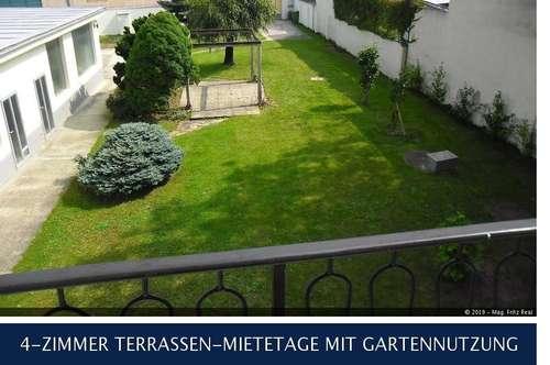 23. Altmannsdorferstrasse 4-ZIMMER TERRASSEN-MIETETAGE MIT GARTENNUTZUNG