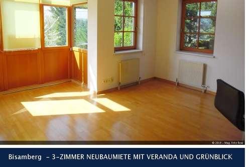Bisamberg - 3-ZIMMER NEUBAUMIETE MIT VERANDA UND GRÜNBLICK