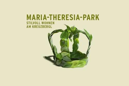 Maria-Theresia-Park – ein Herz und eine Krone.