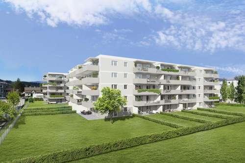 Im Südwesten von Klagenfurt wohnen.