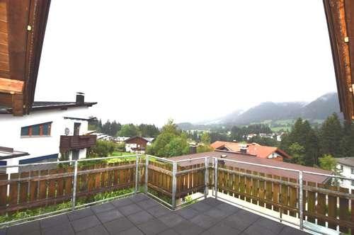 Sehr schöne Penthouse Wohnung mit Panoramablick auf die Hohe Salve und Brandstadl