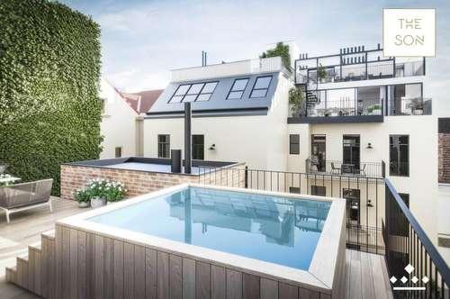 THE SON - luxussprühende Townhouse Penthouse mit Pool!