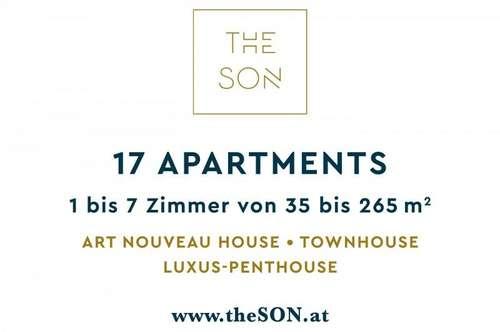 """THE SON - """"die Noble"""" ausgezeichnete Altbauwohnung im 4.OG mit toller Aussicht!"""