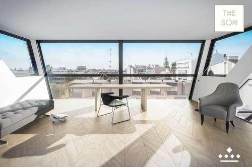 THE SON - luxussprühende Citypenthouse mit Pool, Outdoor-Küche und Wellnessbereich!