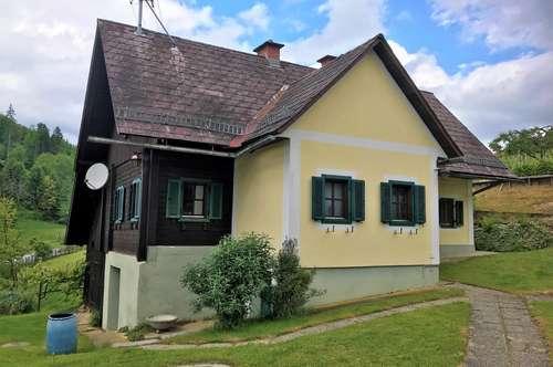 Weststeirisches Bauernhaus in idyllischer, ruhiger und sonniger Lage am Weinberg