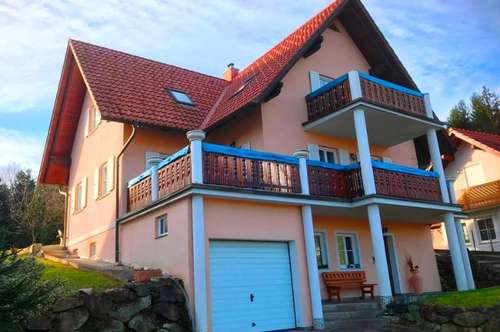 Eibiswald: top gepflegtes Ein- Zweifamilienhaus mit südlichem Flair in sonniger Aussichtslage