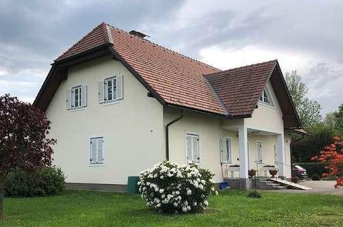 Eibiswald: top gepflegtes Einfamilienhaus mit großem Grundstück in zentrumsnaher Lage