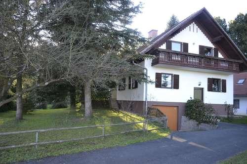 St. Martin im Sulmtal: Gepflegtes, renoviertes und teilmöbliertes Einfamilienhaus in ruhiger Waldrandlage
