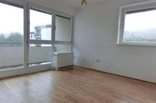 Sehr helle, gepflegte 2 Zimmer Wohnung mit großem Balkon in schöner Stadtrandlage (Haus mit Lift!)
