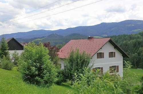 Eibiswald: General saniertes Einfamilienhaus in sehr schöner, ruhiger Lage