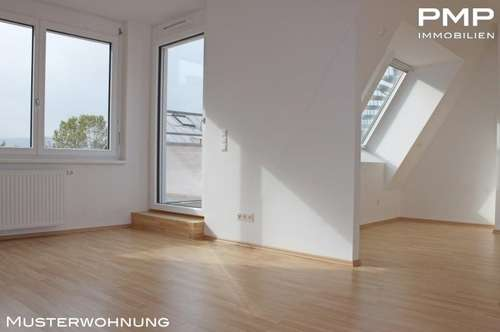 Dachgeschosswohnung mit Terrasse, 2-Zimmer