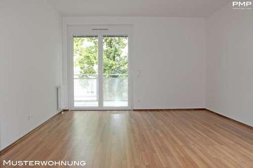 Ruhige Wohnung mit Balkon, zentrale Lage