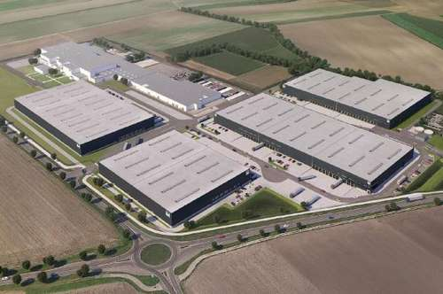 Logistikpark in unmittelbarer Nähe zum Flughafen Wien (Büro, Lager, Logistik) - MIETE!
