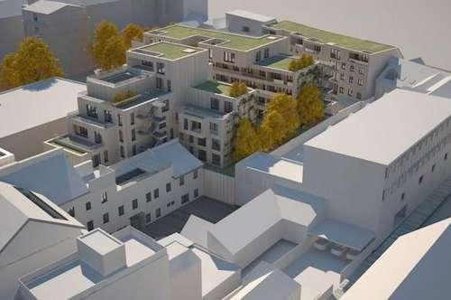 NEUBAU WOHNPARK WELS MITTE - 3 Zimmerwohnung mit großer Terrasse