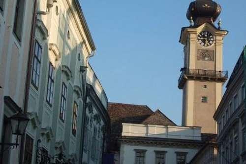 Linz-Zentrum, außergewöhnliche, 98 m2 große Stadtwohnung im Barockpalais in der Altstadt