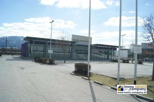 Geschäftslokal inkl. Parkplätze in Stainach, Gesamtfläche (Verkauf und Büro) = 937m²