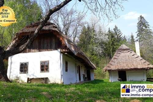 """Ensemble aus Streckhof, Schüttkasten, Blockwerksspeicher, ca. 115m² WNF, ca. 3580m² Grund! Ab morgen sind Sie Teil dieser geschichtsträchtigen, anmutigen """"Häuser"""" aus dem 18./19. Jahrhundert."""
