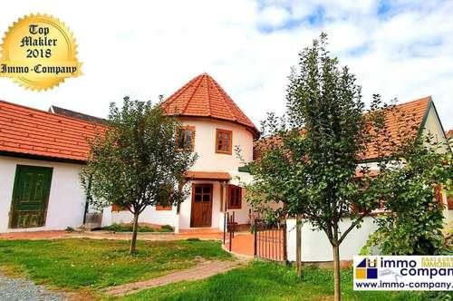 Wunderschöner Bauernhof mit Turm - ca. 155m Wfl., ca. 1100m² Grund - 229.000 Euro