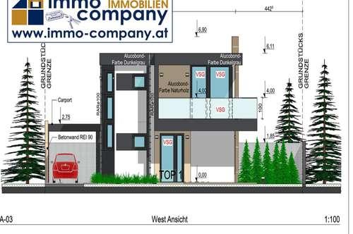 PROVISIONSFREI **** Luxus-Haus auf zwei Ebenen und Blick auf den Schneeberg **** - POTTENDORF