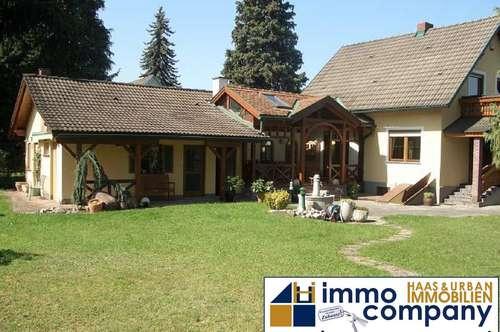 Einfamilienhaus mit großem Garten