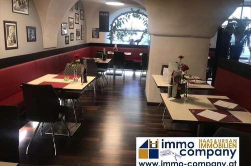Hall in Tirol – Zentrumslage: Gemütliches italienisches Restaurant mit besonderem Flair, 164m² Nfl, 45 Sitzplätze, noch in Betrieb, voll ausgestattet, Sofortbezug