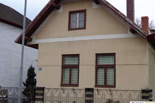 Geräumiges Einfamilienhaus am Ortsende von Unterrabnitz