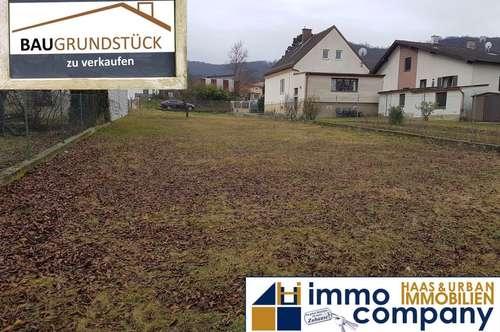 Baugrundstück Hainburg: Einfamiilienhaus- und Wohnhauseignung für Bauträger