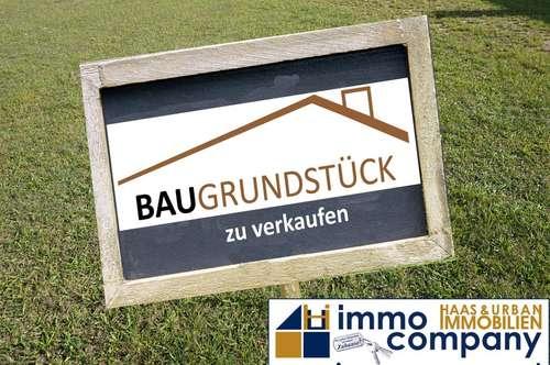 2000 m² ebener Baugrund 17 km vor der Wiener Stadtgrenze