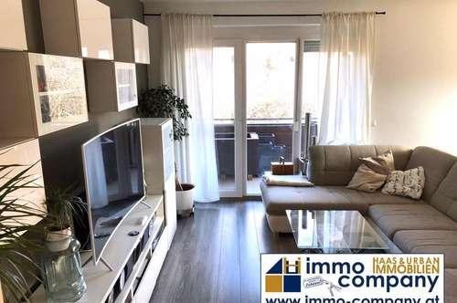 Entzückende 3 Zimmer Wohnung, Vollmobiliert mit Kellerabteil und Garagenplatz