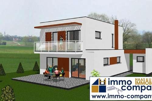 Rohbau - Schlüsselfertig auf Wunsch - 104 m² Wfl. - 488 Gfl.